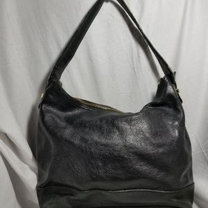 # A9,851 Cole Haan Shoulder Bag Black Leather
